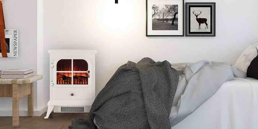chimenea electrica decorativa. efecto llama. estufas electricas bajo consumo leroy merlin. chimeneas baratas